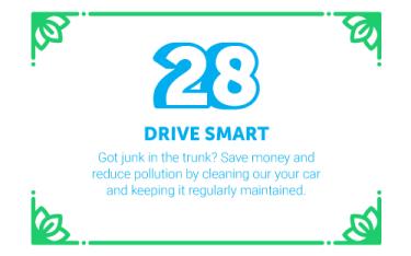 30 Ways in 30 Days #28 - Drive Smart