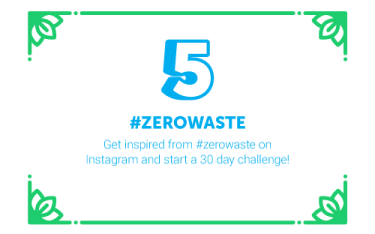 30 Ways in 30 Days #5 - #zerowaste