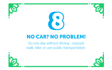 30 Ways in 30 Days #8 - No car? No problem