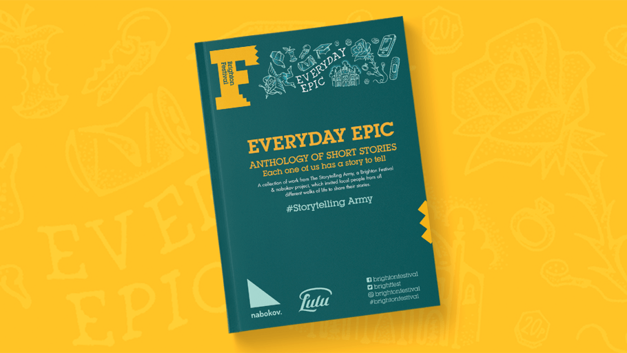 Brighton Festival Everyday Epic Short Story Anthology
