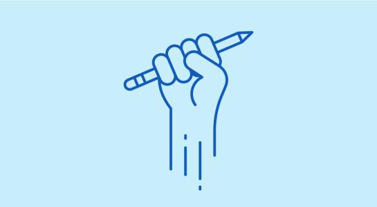 hand-pencil