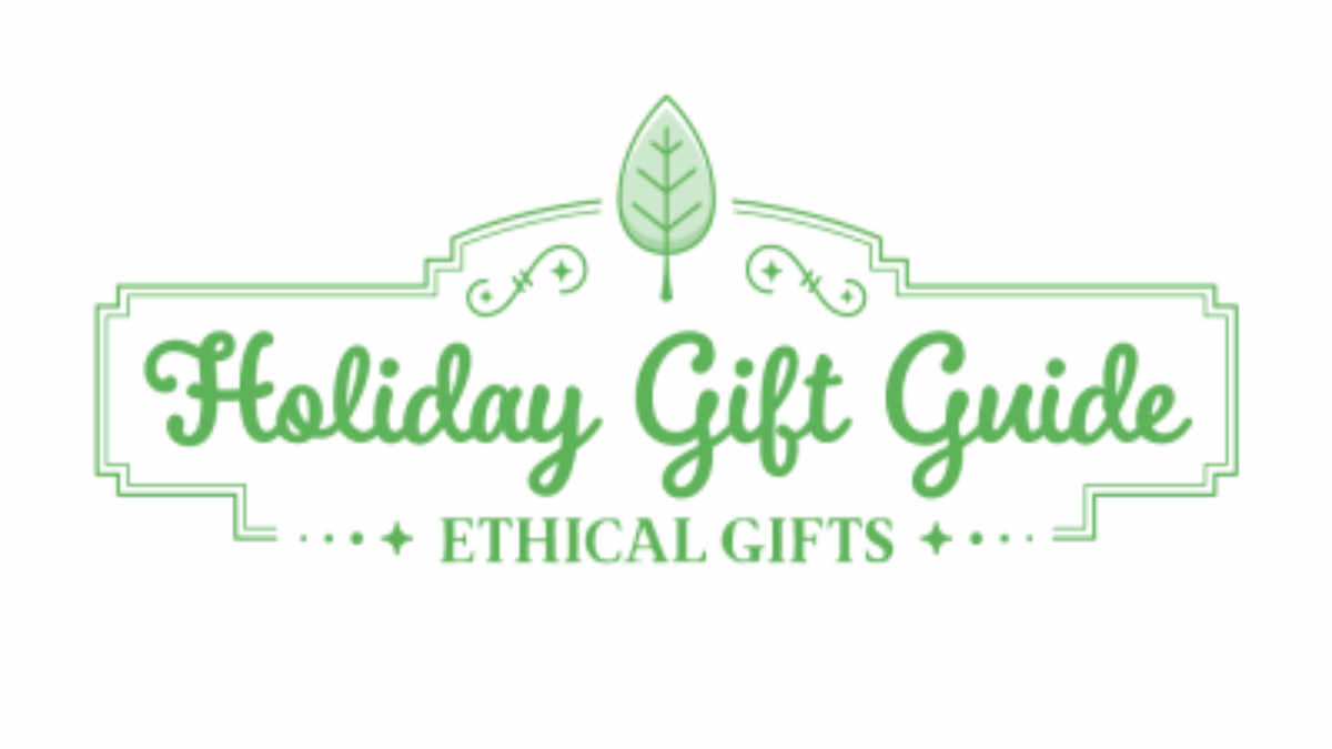 Ethical Holiday Gift Guide Blog Graphic Header