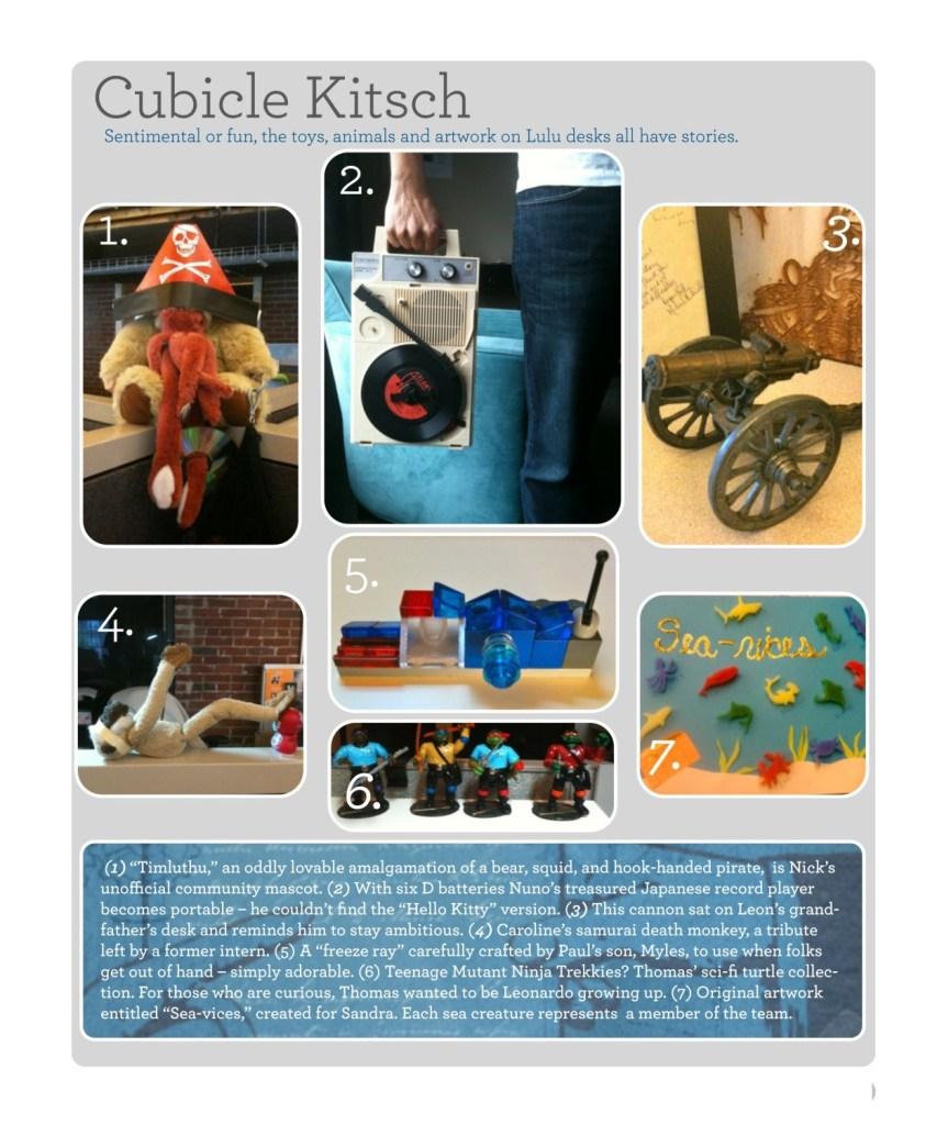cubicle kitsch