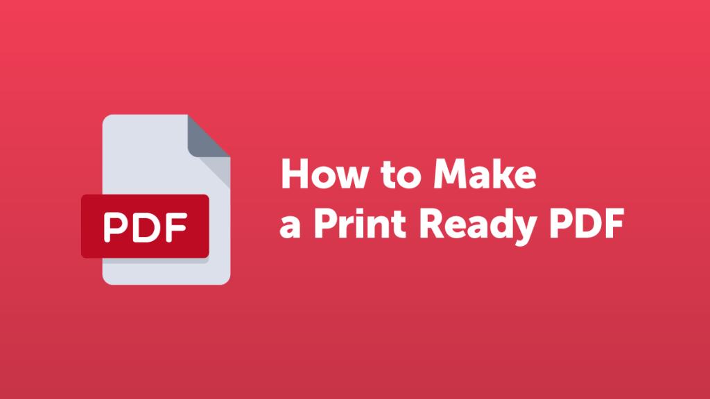 How to Make a print-ready PDF | Lulu Blog | Publishing