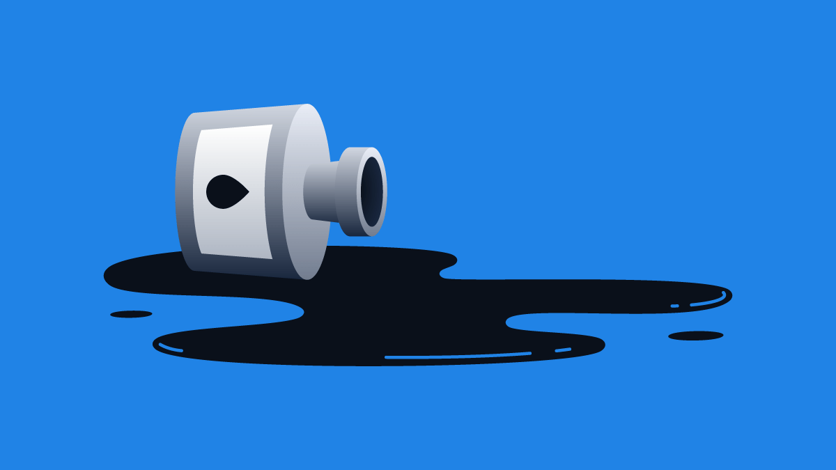 Don't Cry Over Spilled Ink
