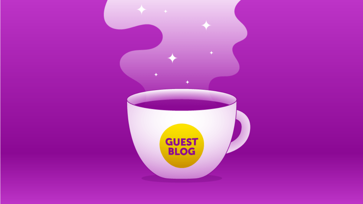Guest Blogger Header Graphic Magenta