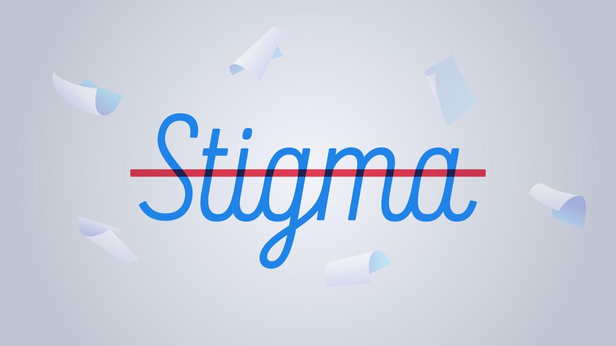 Self-publishing Stigma blog graphic header