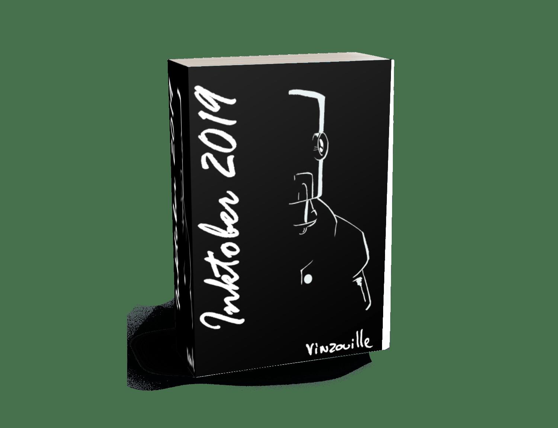 Artbook Inktober 2019 - Vinzouille