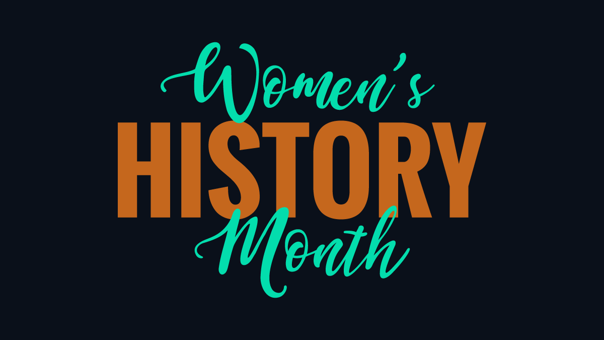 Women's History Month blog header