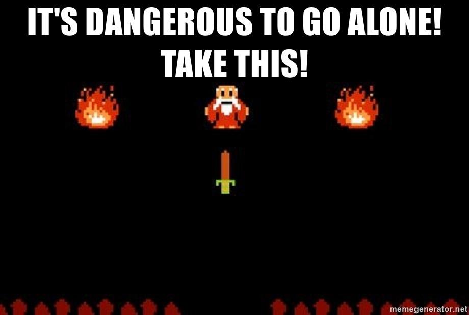 Legend of Zelda Meme