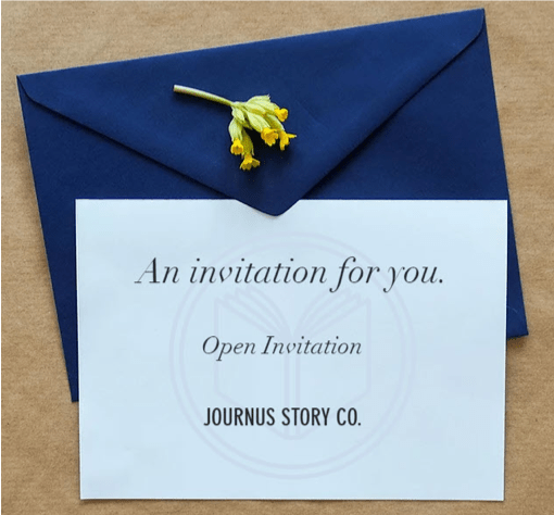 Invite your parents to their Journus project