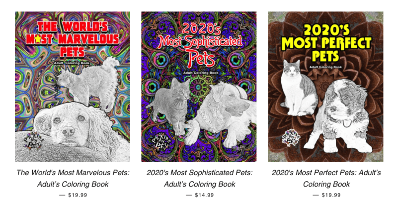 Praise My Pet Coloring Book Collection