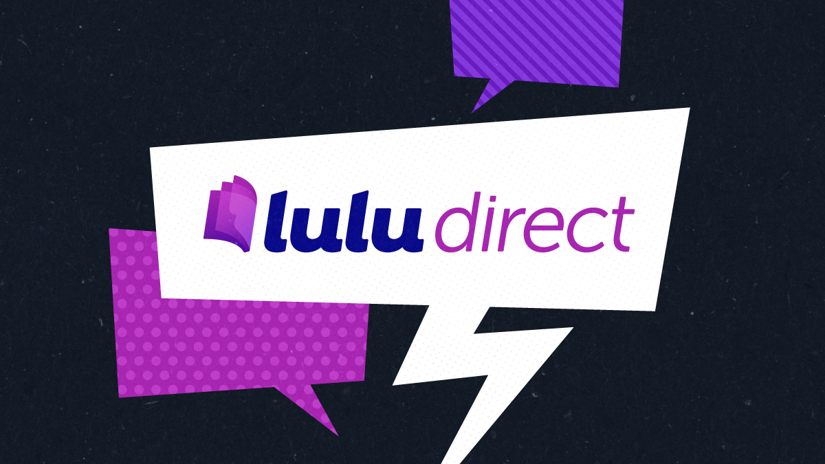 Lulu Direct Announcement blog graphic image