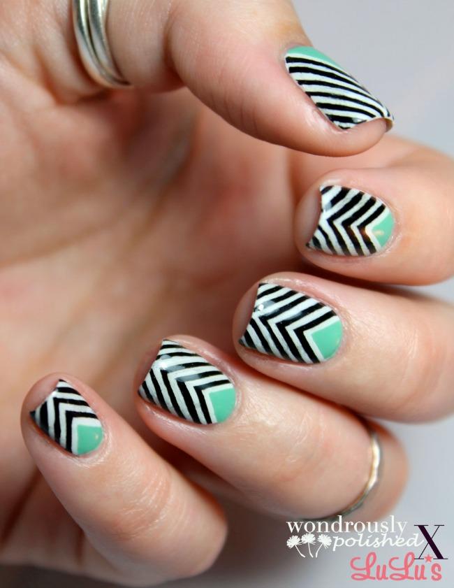 Manicure Monday: Chevron Nail Tutorial at LuLus.com!