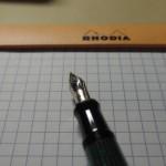 ペリカン スーベレーン M400のペン先