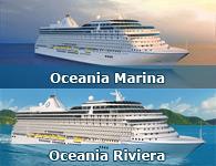 Oceania Marina & Oceania Riviera