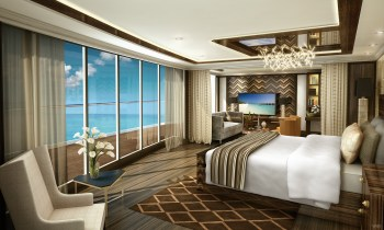 Regent Cruise - Suite Master Bedroom