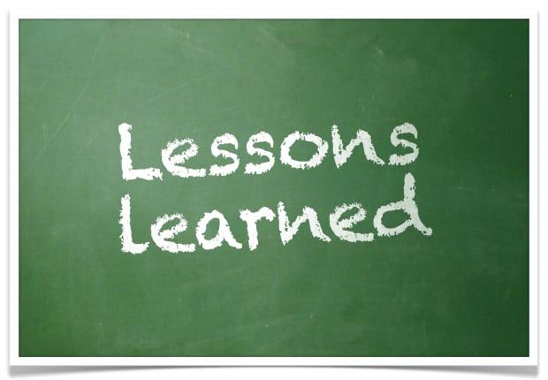Resultado de imagem para lições aprendidas