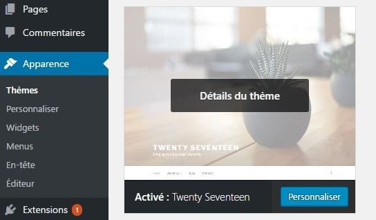 personnaliser-theme-wordpress