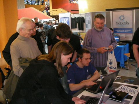 Making USB Sticks with LXDE at the Chemnitzer Linuxtage 2009