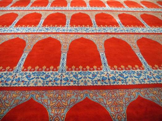 carpet in mosque