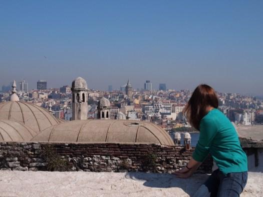 girl in istanbul
