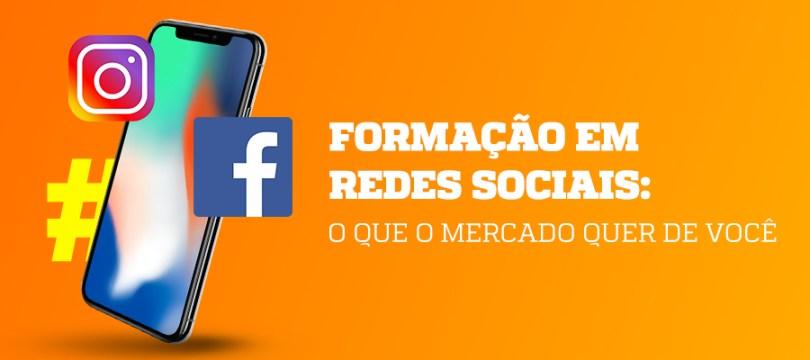 formação em redes sociais