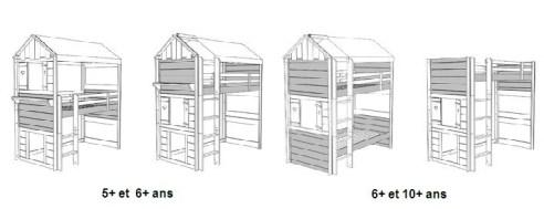 Lit Cabane Evolutif Le Dénouement Approche Le Blog De Valérie - Lit cabane mobil wood