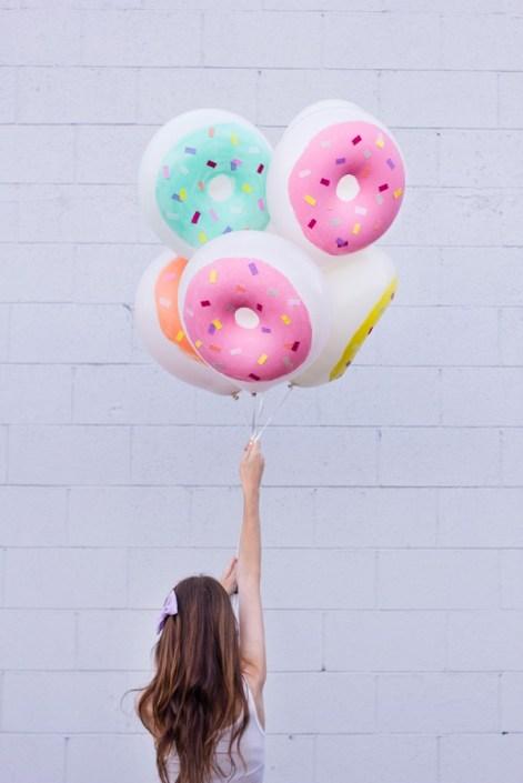DIY-Donut ballons