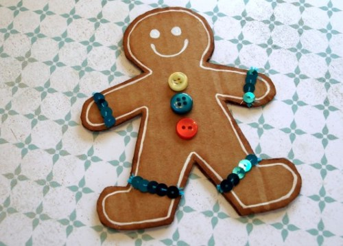 gingerbread man DIY7