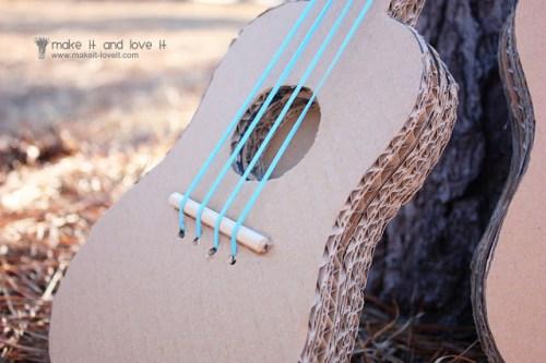 DIY Guitare en carton