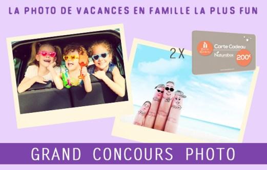 Concours photo de la photo de vacances en famille la plus fun