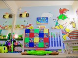 Nintendo Super Mario themed baby nursery