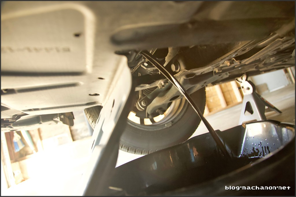 Change the engine oil on a 3rd gen Prius