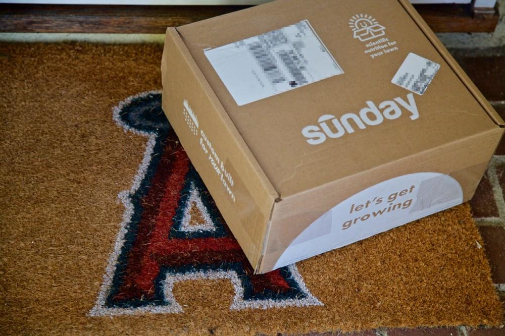 Get Sunday lawn care box.