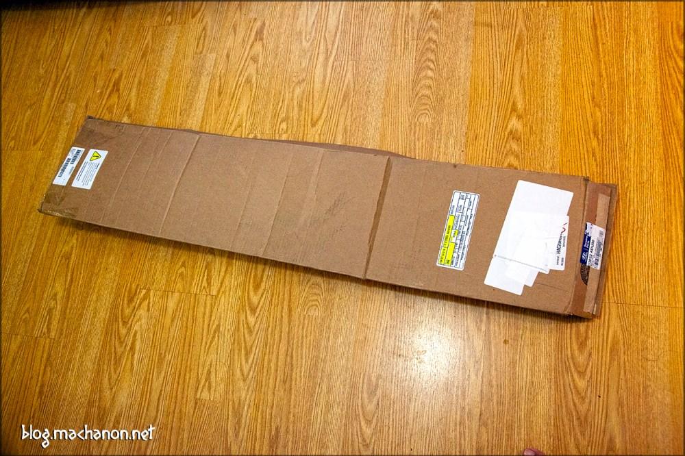The OEM Hyundai Tucson Window Visor kit, part #D3022-ADU00, shipping box.