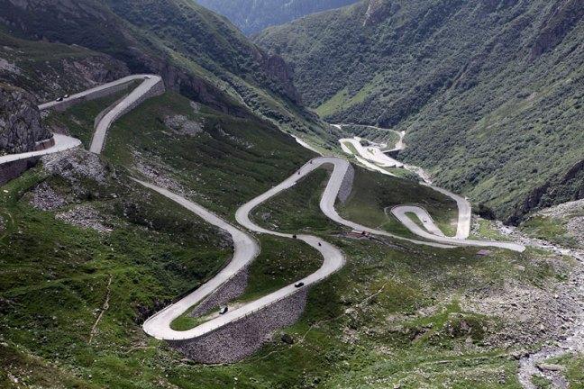 Stelvio Pass, Alpes Orientais – Itália