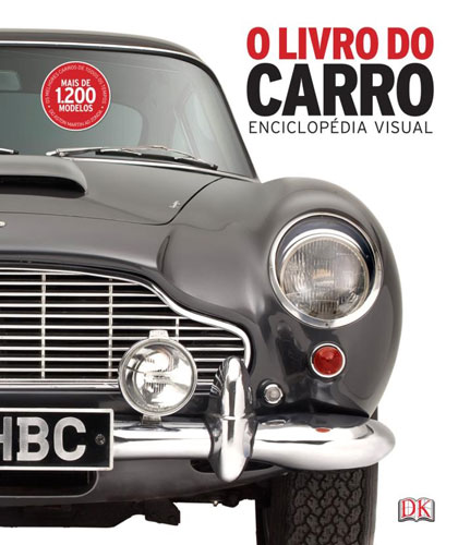 """O Livro do Carro - Enciclopédia Visual"", de Dorling Kindersley"