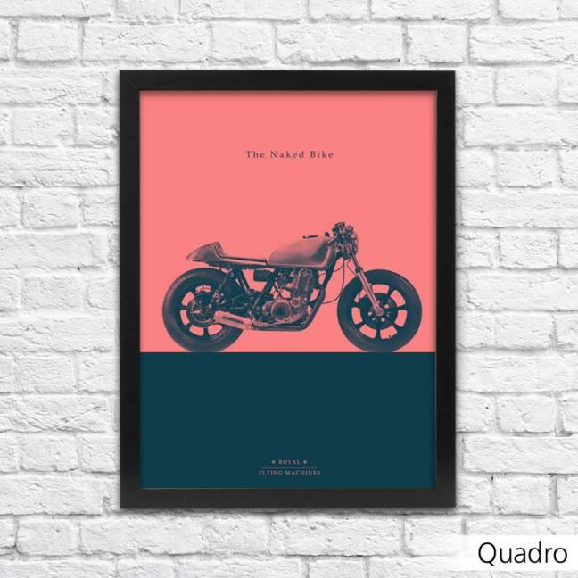 Quadro de moto naked