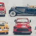 montar uma coleção de miniaturas de carros