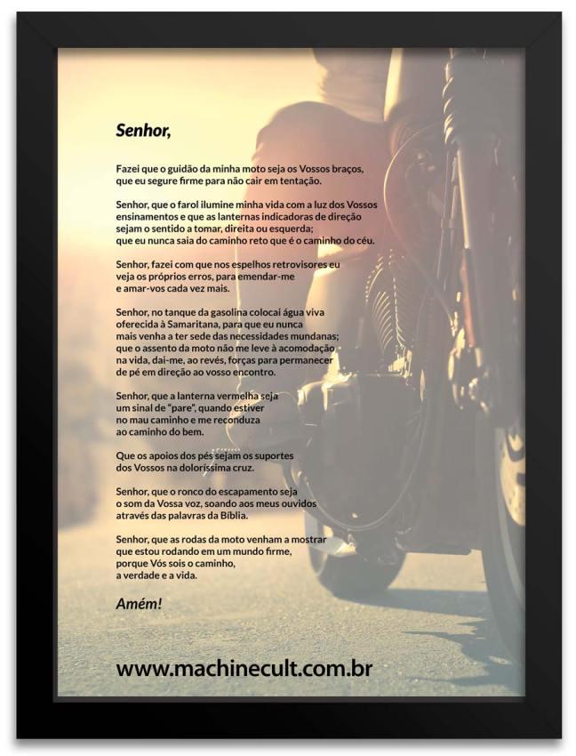 Oração do Motociclista II