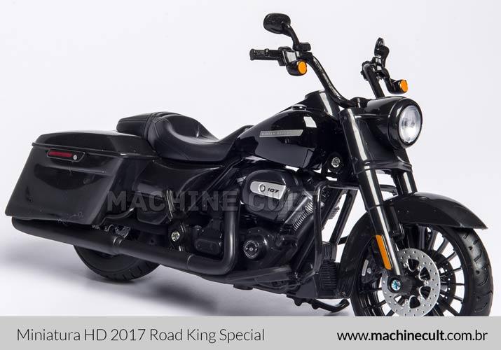 Miniatura Harley-Davidson 2017 Road King Special