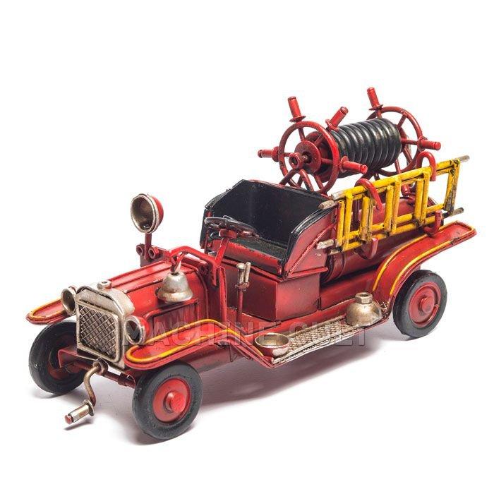 Miniatura Carro de Bombeiro Vintage