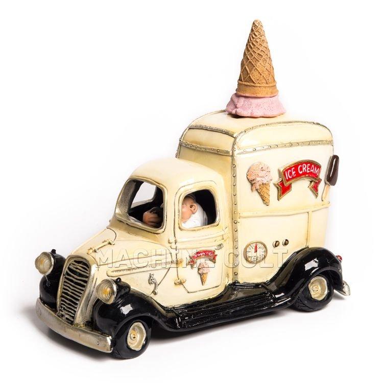 Miniatura Carro de Sorvete Vintage