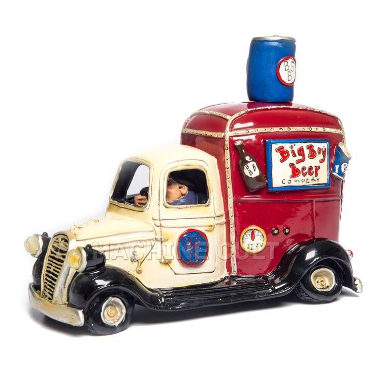 Miniatura Vintage Caminhão de Cerveja