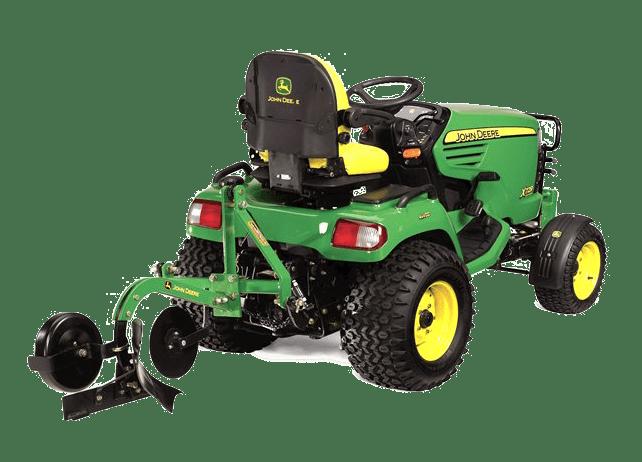 Lawn Mower Plow Attachment