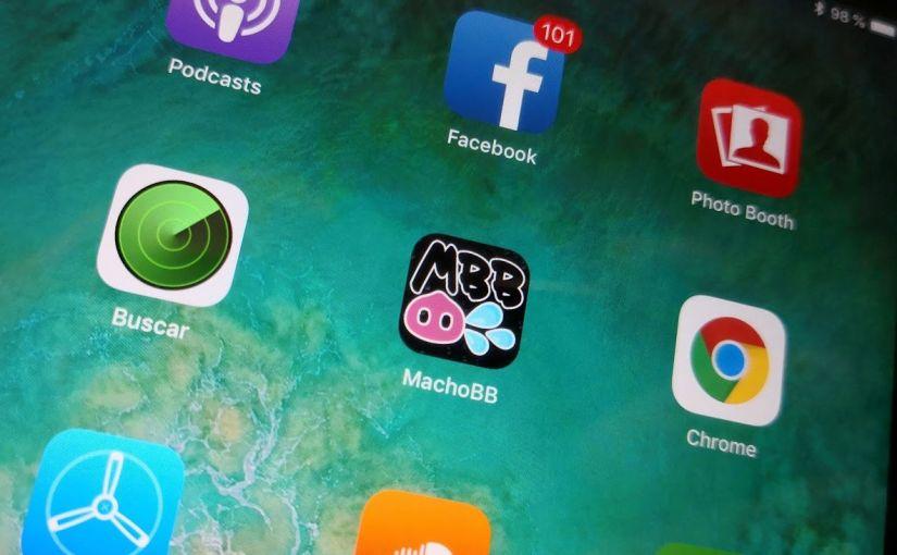 MachoBB app available on iPhone!