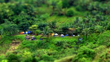 Mt Batulao - Campsite ng old trail