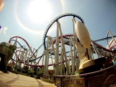 Universal Studio Singapore Roller Coaster 1