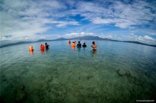 Starfish Island, Hundo Bay, Puerto Princesa Palawan